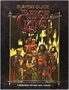 Dark Ages: Players Guide to the High Clans