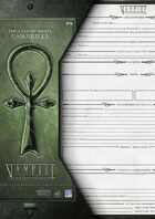 VtM- City Worksheet for Camarilla [3rd Edition]