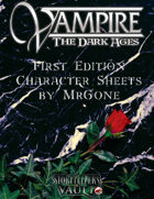 MrGone's Vampire the Dark Ages First Edition Character Sheets