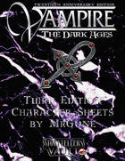 MrGone's Vampire the Dark Ages Third Edition Character Sheets