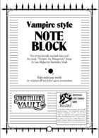 Vampire Style NoteBlock