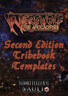 Werewolf: The Apocalypse 2nd Edition Tribebook Templates