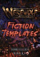 Werewolf The Apocalypse Fiction Templates