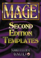 Mage: The Ascension 2nd Edition Templates