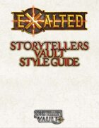 Exalted Storytellers Vault Style Guide