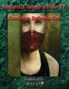 Beckett's Vampire Folio 17: Carthago Delenda Est