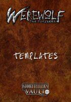 Werewolf: The Forsaken Templates