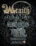 Wraith: The Oblivion Second Edition Templates