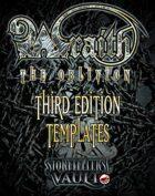 Wraith: The Oblivion Third Edition Templates