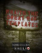 Wraith: The Great War Templates
