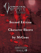 MrGone's Vampire the Requiem Second Edition Character Sheets
