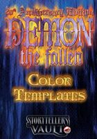 Demon: The Fallen Color Templates