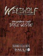 Werewolf: The Forsaken Storytellers Vault Style Guide