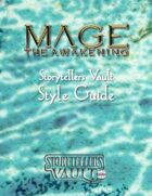 Mage: The Awakening Storytellers Vault Style Guide
