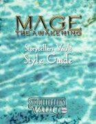 Mage: The Awakening Storytellers Vault Style Guide