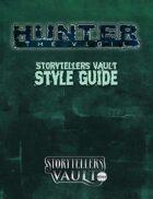 Hunter: The Vigil Storytellers Vault Style Guide