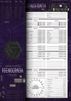 Technocracy - Character Sheet [Revised]