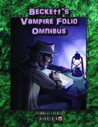 Beckett's Vampire Folio Omnibus
