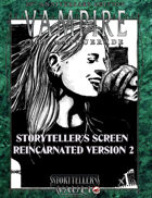 Vampire 20th Storyteller´s Screen 2.0 Reincarnated