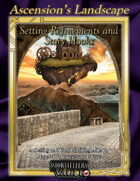 Ascension's Landscape: Setting Refinements and Story Hooks