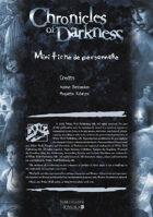 CoD -Pocket Character Sheet - Mini fiche de Personnage