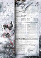 WtA Character sheets [3rd Ed.] Tundra