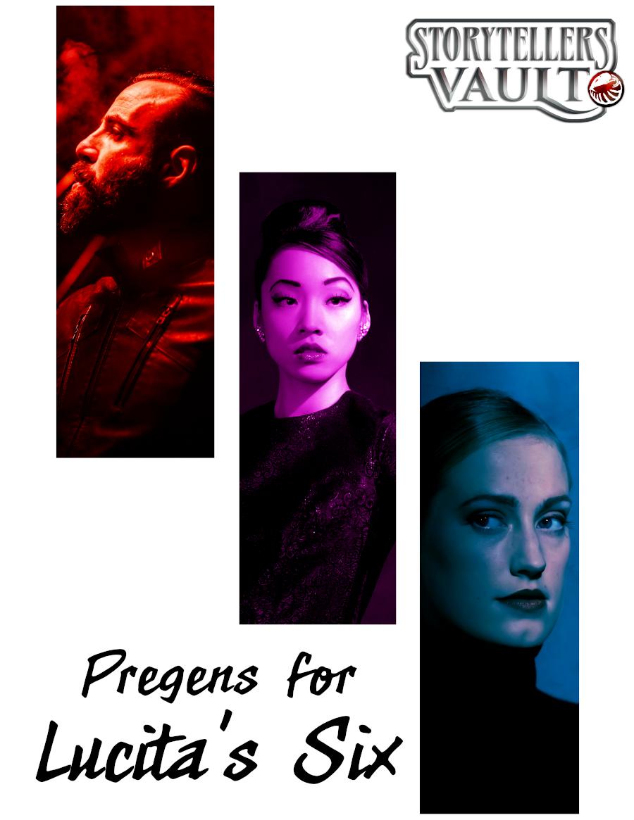 Pregens for Lucita's Six