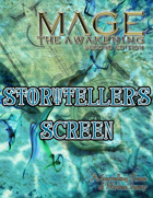 Mage the Awakening 2nd Edition Storyteller's Screen