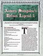 Aurora Sanguine's Urban Legend 1