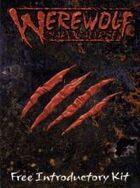 Werewolf the Apocalypse - Free Introductory Kit