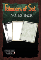 Followers of Set Notes