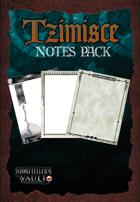 Tzimisce Notes Pack