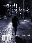 World of Darkness: Character Pad