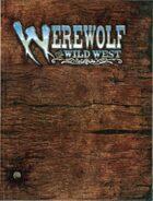 Werewolf The Wild West