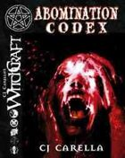 Abomination Codex