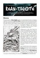 The Cthulhu Hack: Rhan-Tegoth