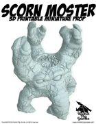 Rocket Pig Games: Scorn Monster