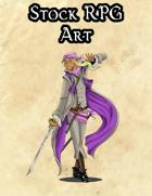 Stock Art - Luindar, Dazzling Swordsman