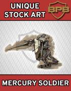 Unique Stock Art - Mercury Soldier