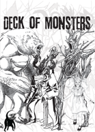 The Deck of Monsters (for Monster of the Week)