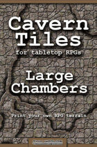 Cavern Tiles - Large Chambers - RPG Game Tiles