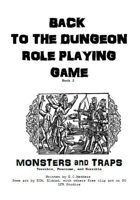 Back to the Dungeon Book 2 Monsters and Traps