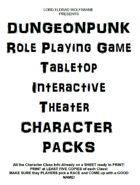 DUNGEONPUNK RPG Character Packs