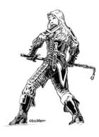 Eric Lofgren Presents: Female Human Fighter