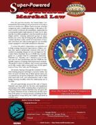 Super-Powered: Operation: Marshal Law