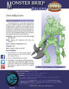 Monster Brief: Golems