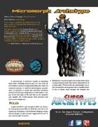 Super Archetypes: Micromorph