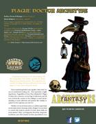 Fantasy Archetypes: Plague Doctor
