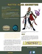 Fantasy Archetypes: Battle Mage