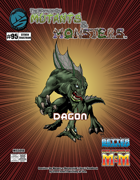 The Manual of Mutants & Monsters: Dagon